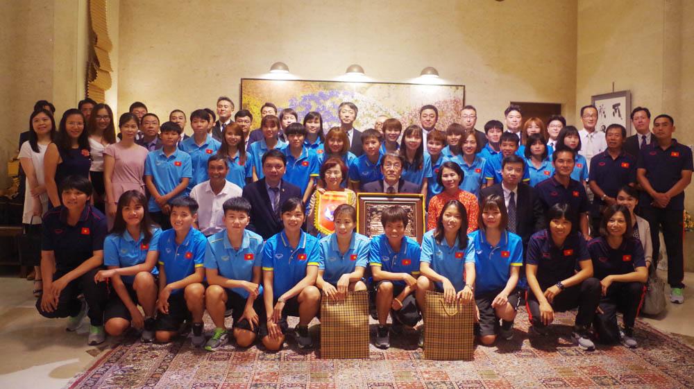 Đội tuyển Bóng đá nữ Quốc gia Việt Nam tập huấn tại Nhật Bản    📹