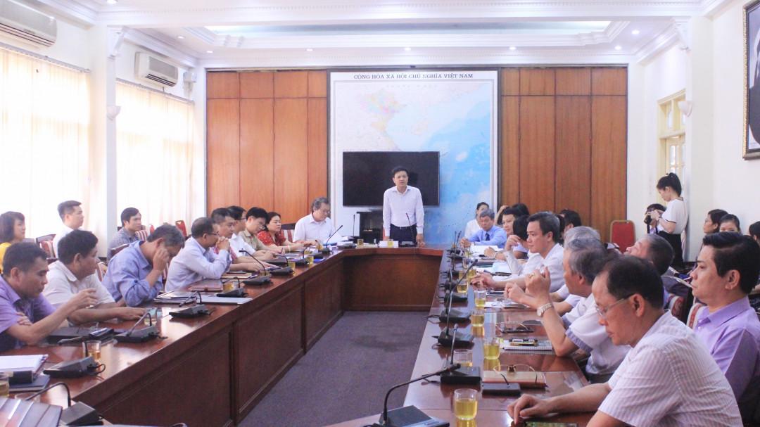 Tổng cục Biển và Hải đảo đẩy mạnh triển khai việc kiểm tra, giám sát công tác Đảng