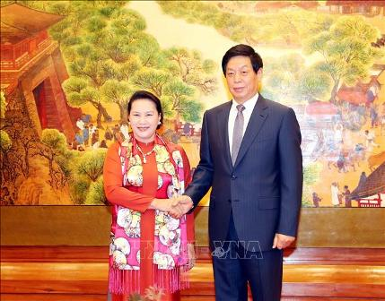 Hợp tác Quốc hội Việt Nam - Trung Quốc tiến triển tích cực
