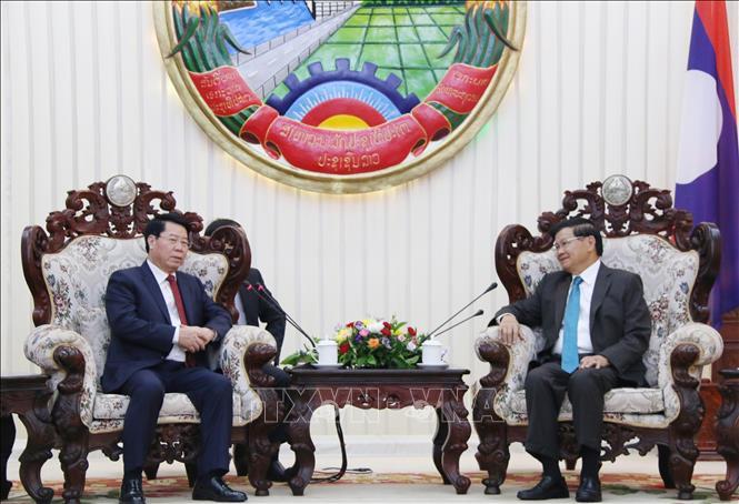 Tăng cường hợp tác giữa Bộ An ninh Lào và Bộ Công an Việt Nam