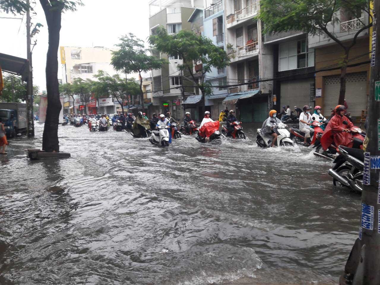 TP.Hồ Chí Minh tích cực triển khai nhiều dự án chống ngập