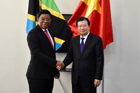 Coi trọng và mỏ rộng hợp tác Việt Nam - Tanzania