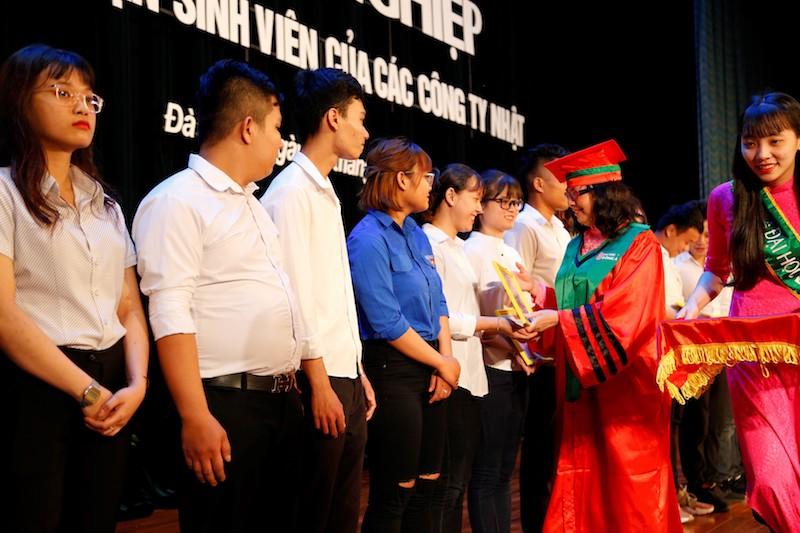 Thêm 60 sinh viên Đại học Đông Á được tiếp nhận làm việc tại Nhật Bản