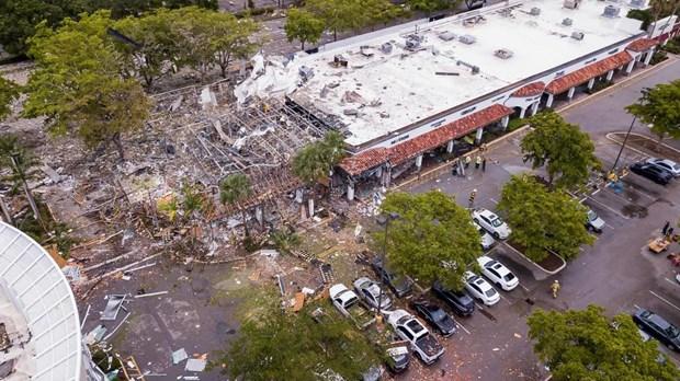 Nổ tại trung tâm thương mại ở Florida, 21 người bị thương
