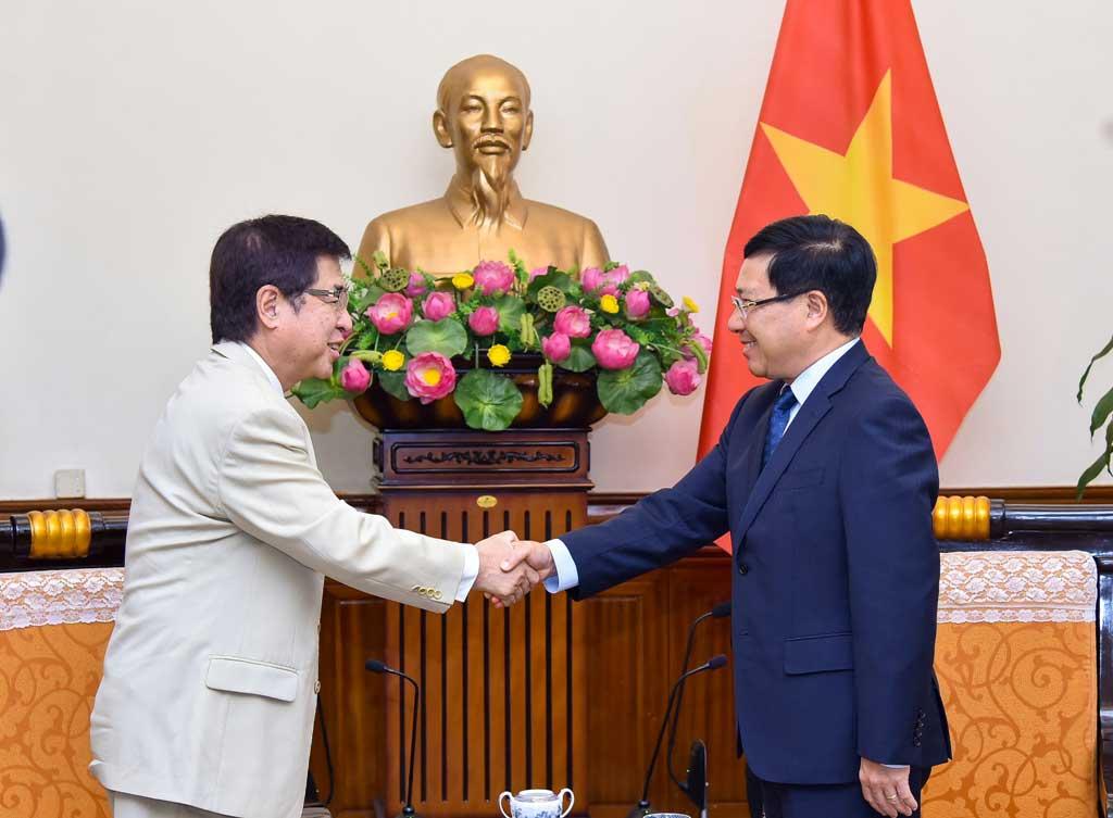 Đối tác chiến lược sâu rộng Việt Nam – Nhật Bản phát triển toàn diện và thực chất