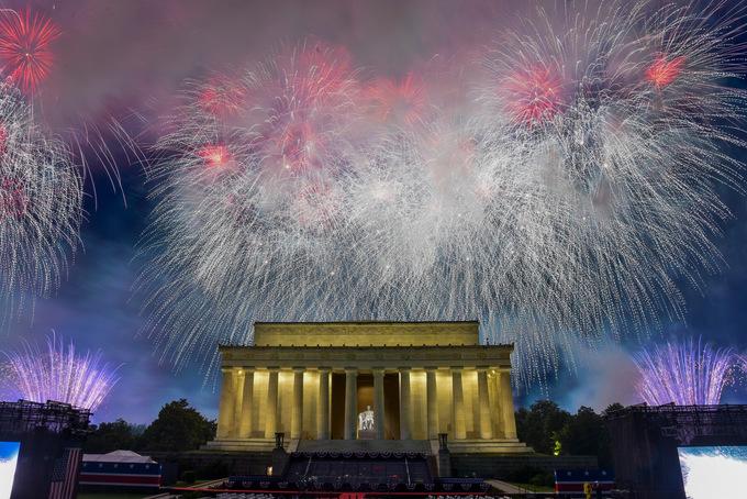 Nước Mỹ kỷ niệm Ngày Quốc khánh