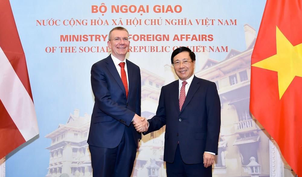 Bước phát triển mới trong quan hệ Việt Nam - Lát-vi-a