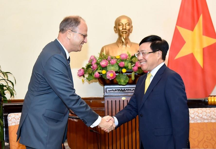 Việt Nam luôn coi trọng việc củng cố và phát triển quan hệ với Đức