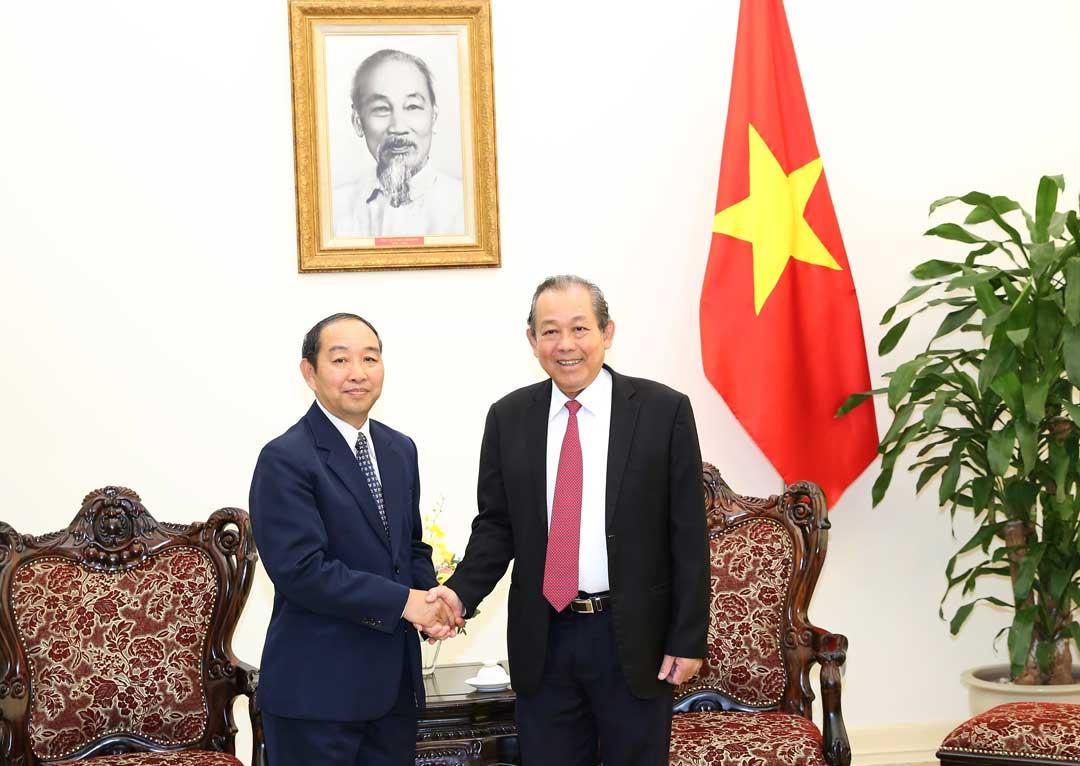 Giữ gìn và phát huy hơn nữa mối quan hệ đặc biệt Việt Nam-Lào