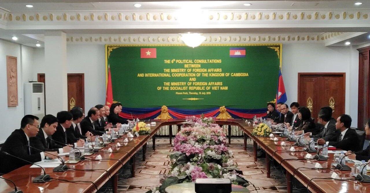 Quan hệ láng giềng hữu nghị Việt Nam - Campuchia không ngừng được củng cố