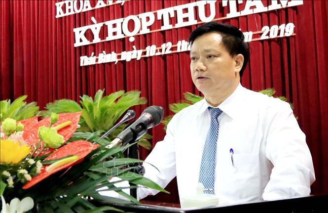 Giám đốc Sở Nội vụ được bầu giữ chức Phó Chủ tịch UBND tỉnh Thái Bình