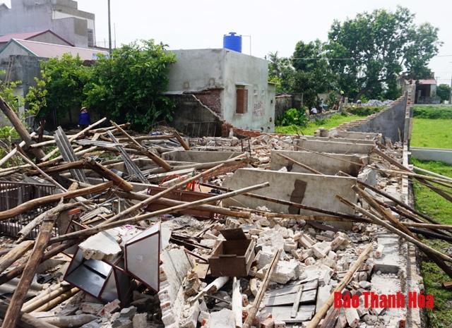 Mưa lớn gây nhiều thiệt hại tại một số tỉnh phía Bắc