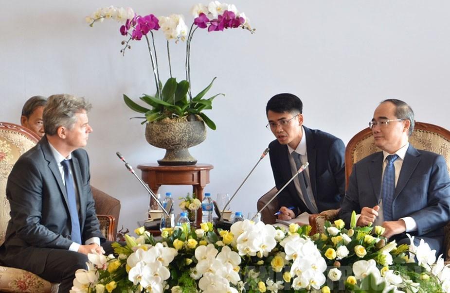 TP.Hồ Chí Minh mong muốn Pháp tham gia vào dự án xây dựng đô thị thông minh