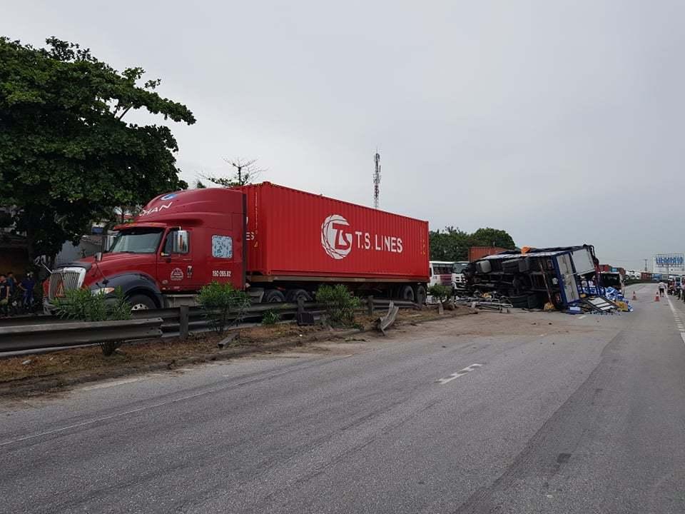 Tai nạn giao thông liên tiếp trên QL 5 làm 7 người tử vong