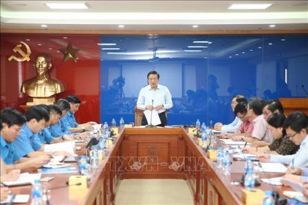 Đoàn kiểm tra của Ban Bí thư làm việc với Đảng đoàn Tổng LĐLĐ Việt Nam