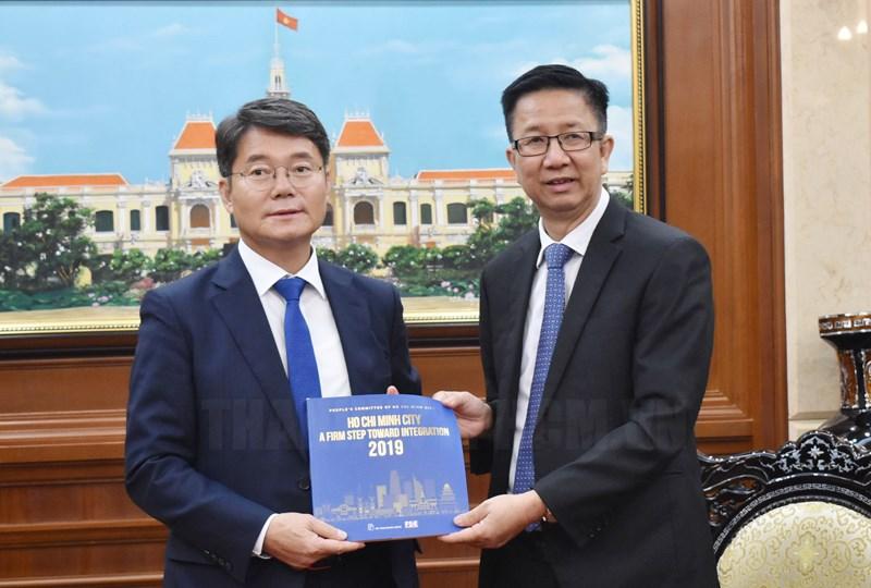 TP.Hồ Chí Minh luôn coi trọng và mong muốn tăng cường hợp tác mọi mặt với Hàn Quốc
