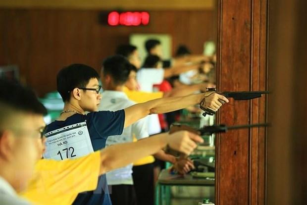 Giải vô địch Bắn súng trẻ quốc gia năm 2019: 12 kỷ lục quốc gia được thiết lập