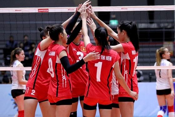 13 đội tuyển tham dự Giải vô địch Bóng chuyền nữ U23 châu Á lần thứ 3