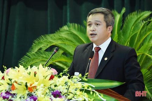 Đồng chí Trần Tiến Hưng được bầu giữ chức Chủ tịch UBND tỉnh Hà Tĩnh
