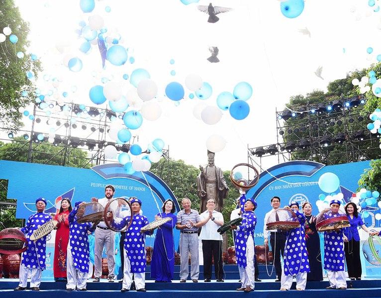 """Hà Nội kỷ niệm 20 năm được UNESCO vinh danh """"Thành phố vì hòa bình"""""""