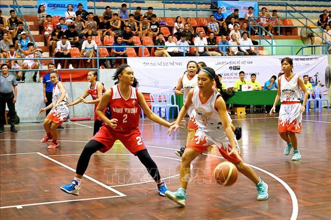 Gần 400 vận động viên tham dự Giải vô địch bóng rổ trẻ quốc gia năm 2019