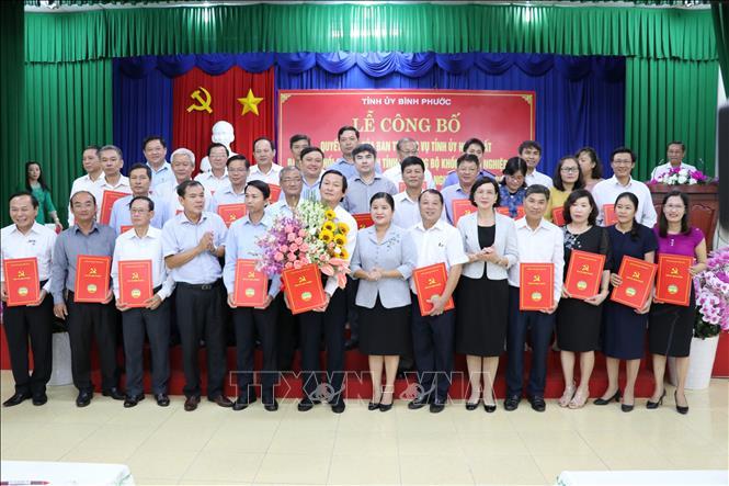 Hợp nhất Đảng bộ Khối các cơ quan tỉnh và Đảng bộ Khối doanh nghiệp tỉnh Bình Phước