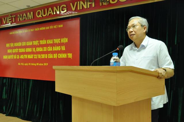 Triển khai Nghị quyết Trung ương 10 khóa XII tại Đảng bộ VEC
