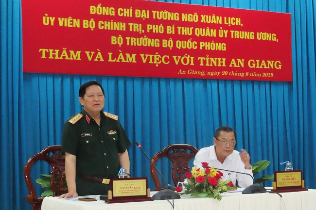 Chuẩn bị Giao lưu hữu nghị biên giới Việt Nam - Campuchia năm 2019