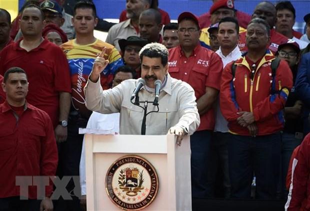 Venezuela tuần hành phản đối các biện pháp trừng phạt của Mỹ