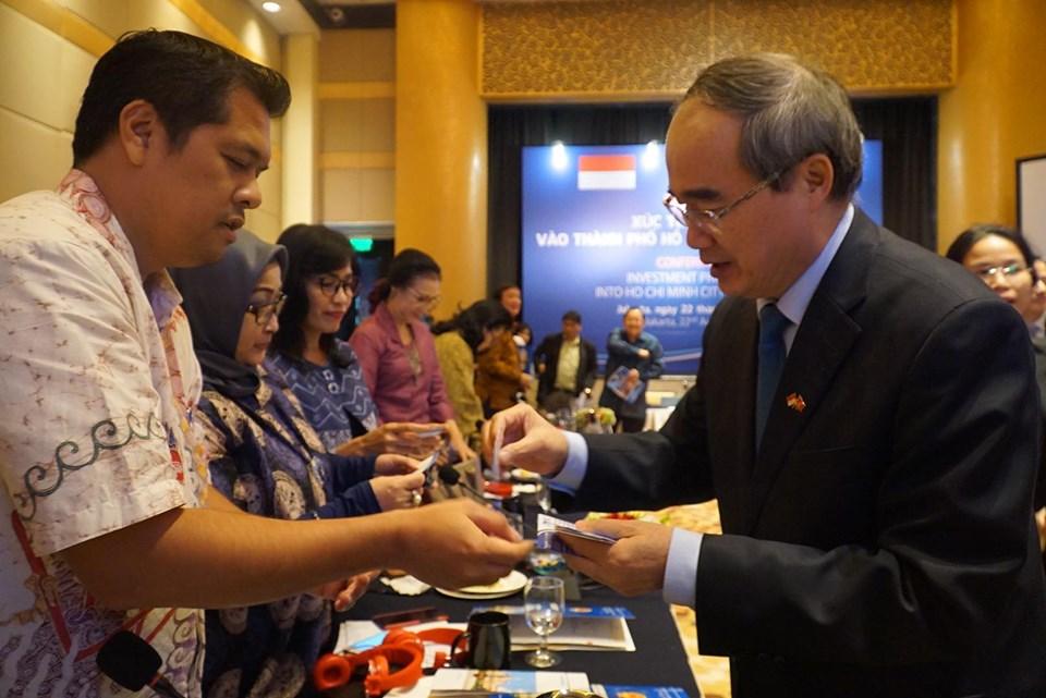 Thúc đẩy hợp tác đầu tư giữa các doanh nghiệp TP. Hồ Chí Minh và Indonesia