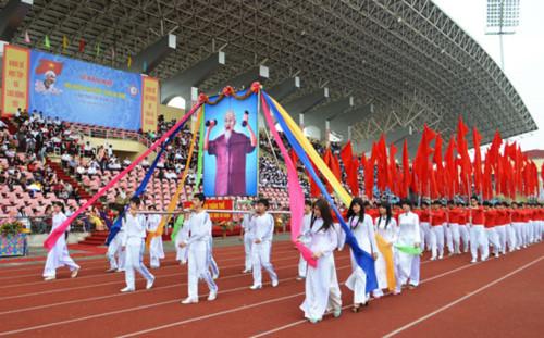 Nam Định đăng cai Hội khỏe Phù Đổng toàn quốc lần thứ X