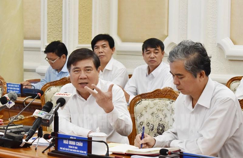 """TP. Hồ Chí Minh """"siết chặt"""" quản lý trật tự xây dựng"""