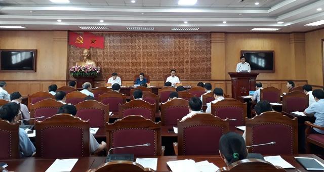 Lai Châu: Chuẩn bị Văn kiện Đại hội đại biểu Đảng bộ tỉnh lần thứ XIV