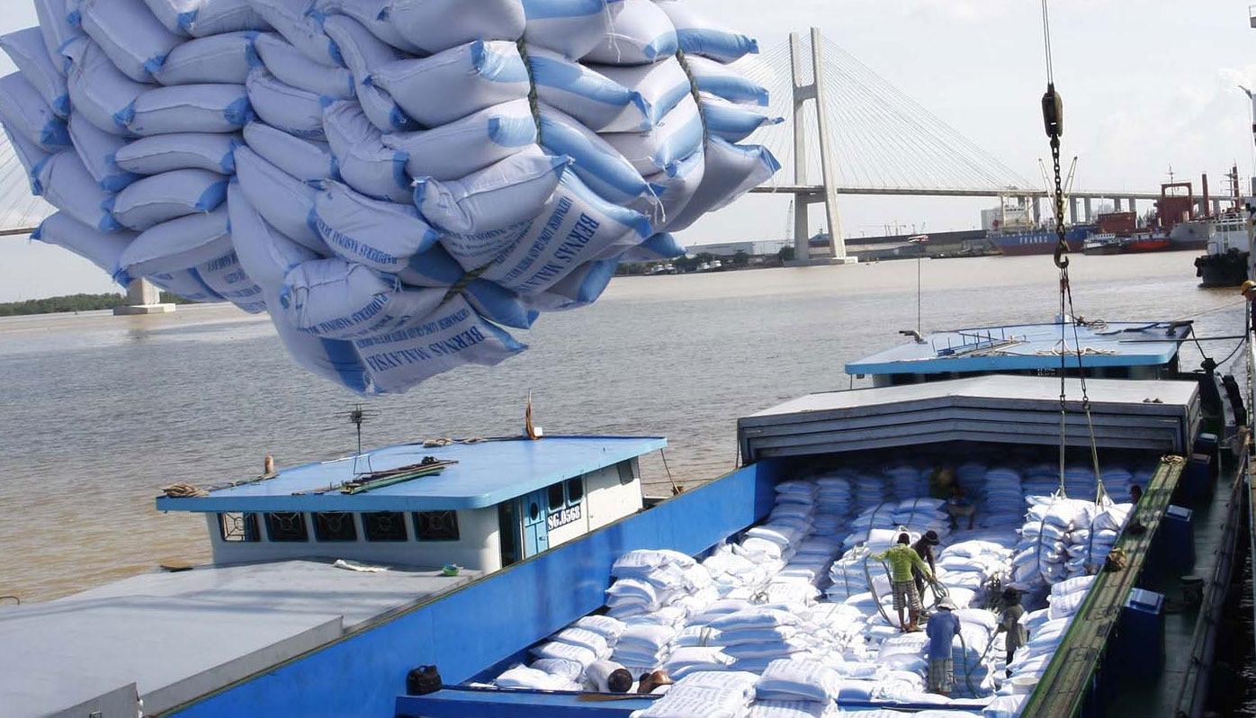 [Infographics] 7 tháng: xuất khẩu trên 4 triệu tấn gạo