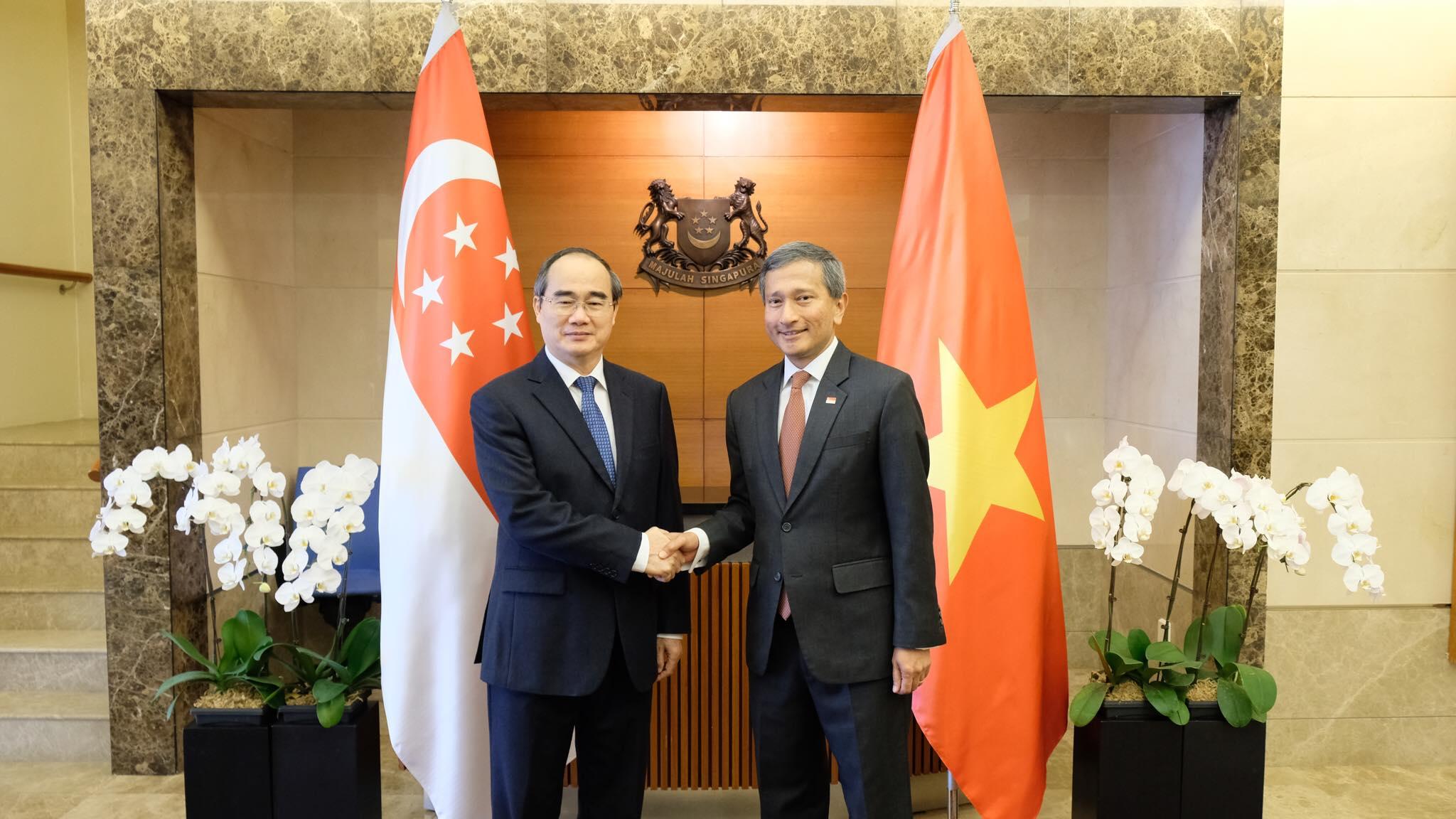 Singapore sẵn sàng chia sẻ kinh nghiệm phát triển đô thị với TP. Hồ Chí Minh