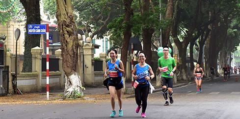 Quảng bá hình ảnh Thủ đô qua Giải Marathon Quốc tế