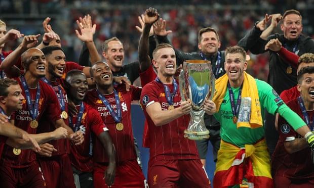 Hạ Chelsea, Liverpool giành Siêu Cúp châu Âu