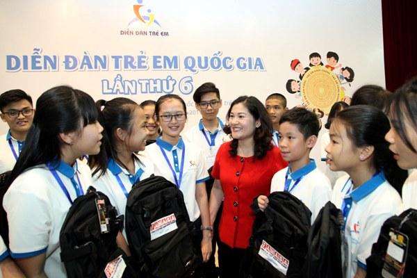 169 em nhỏ dự Diễn đàn trẻ em quốc gia