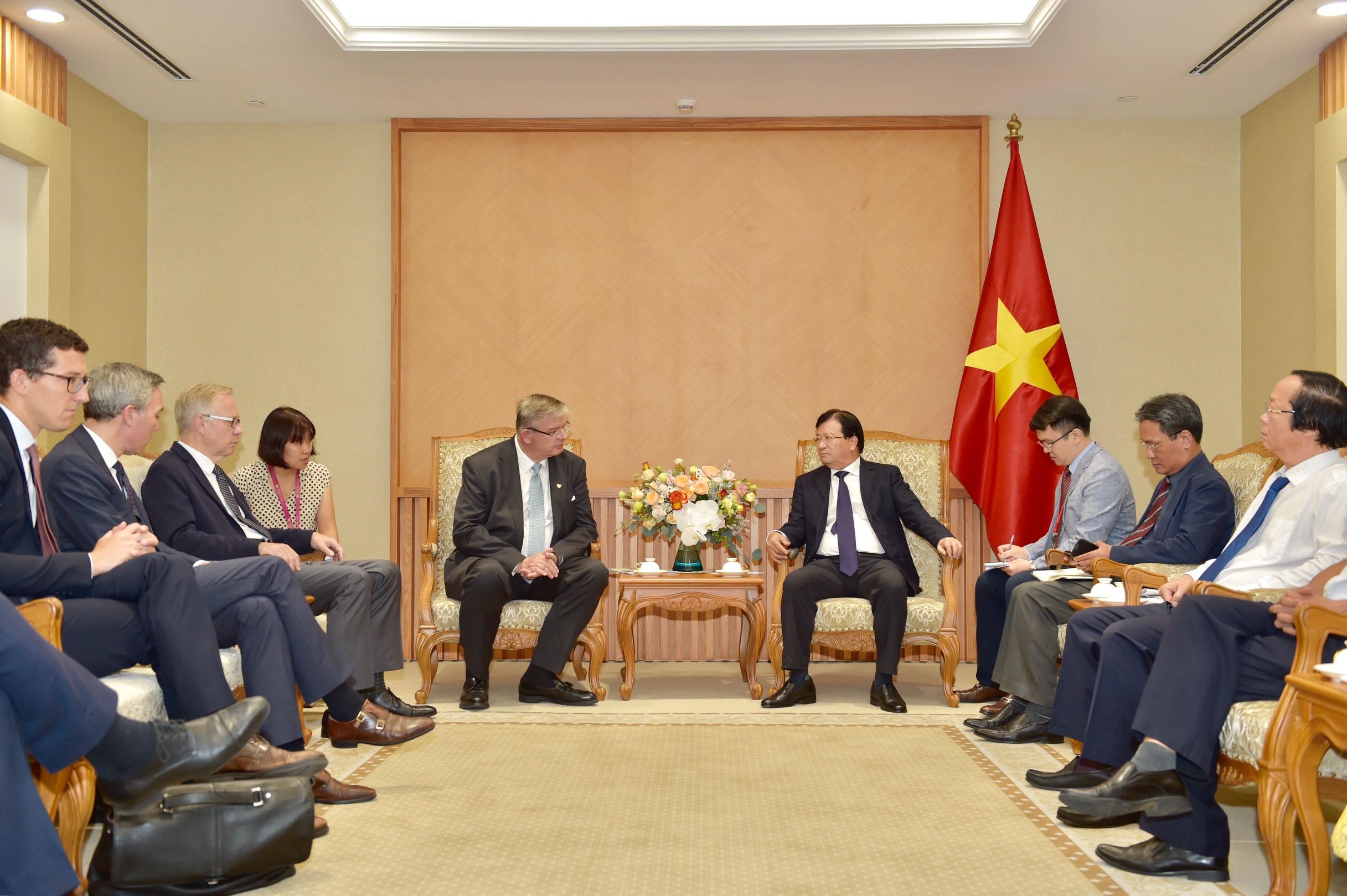 Quan hệ hợp tác hữu nghị Việt Nam, Na Uy đang phát triển tốt đẹp