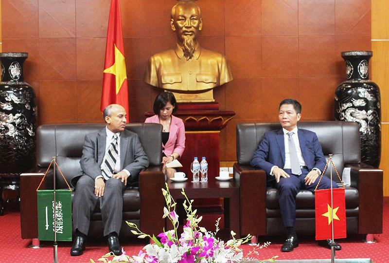Ả-rập Xê-út là đối tác thương mại quan trọng của Việt Nam tại khu vực Trung Đông