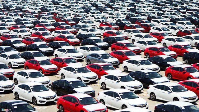 7 tháng, nhập khẩu gần 87 nghìn ô tô nguyên chiếc