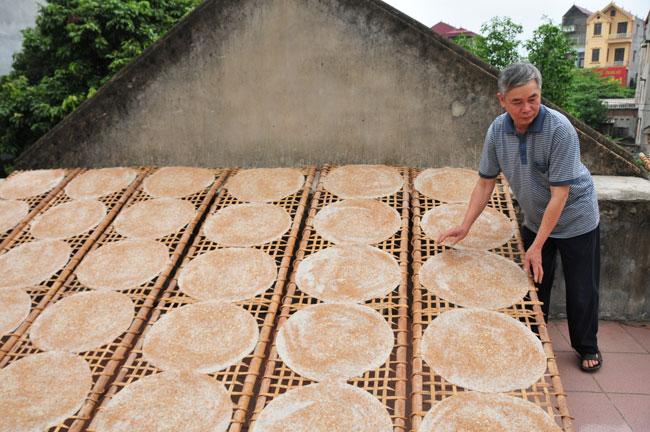 Bánh đa làng Dĩnh Kế