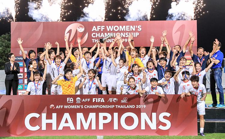 Hạ Thái Lan, Việt Nam vô địch giải bóng đá nữ Đông Nam Á 2019