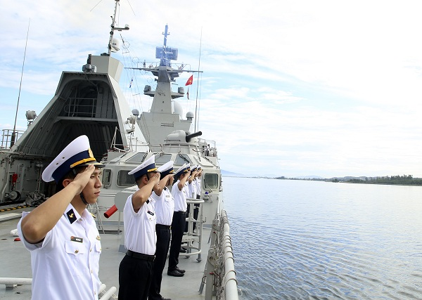 Tàu 016-Quang Trung hoàn thành tốt nhiệm vụ đối ngoại quốc phòng