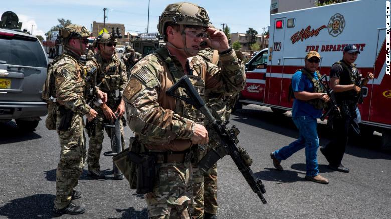 Xác định được danh tính nghi phạm trong vụ xả súng tại El Paso