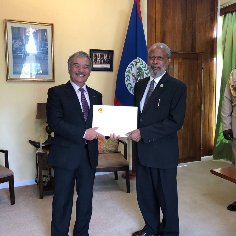 Thúc đẩy mạnh mẽ quan hệ hữu nghị hợp tác song phương Việt Nam - Belize