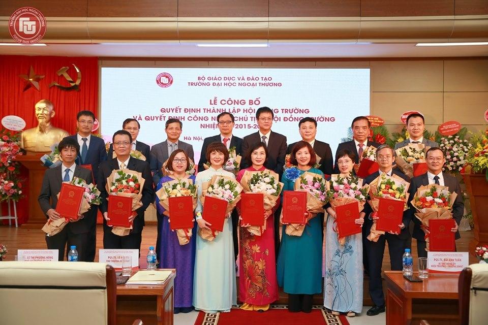 Đại học Ngoại thương công bố thành lập Hội đồng trường