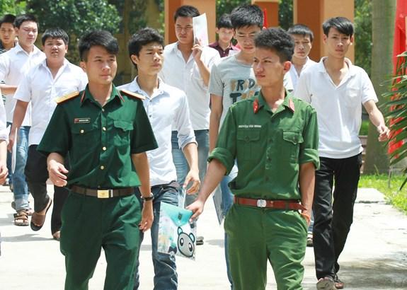 Công bố điểm trúng tuyển vào các trường khối Quân đội năm 2019