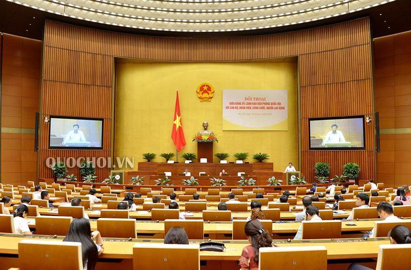 Văn phòng Quốc hội phát động phong trào thi đua thực hiện văn hóa công sở