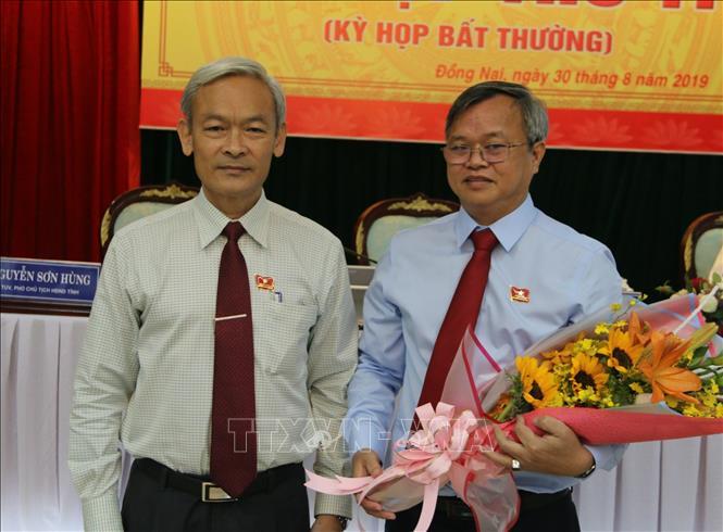 Đồng chí Cao Tiến Dũng được bầu giữ chức Chủ tịch UBND tỉnh Đồng Nai